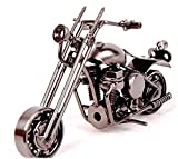 YBB Technology Motorcycle decor, Handmade Motorcycle Model Collectible Art Sculpture Motorbike For Home Decor (M32)