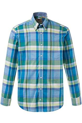 JP 1880 Homme Grandes tailles Chemise à carreaux vert XL 708130 41-XL