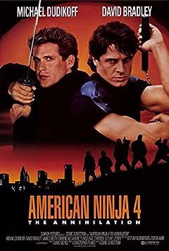 Amazon.com: American Ninja 4: The Annihilation POSTER (27