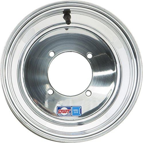 Douglas Technologies Blue Label Wheel - 10x10 - 4+6 Offset - 4/115 , Bolt Pattern: 4/115, Wheel Rim Size: 10x10, Rim Offset: 4+6, Color: Aluminum, Position: Front/Rear