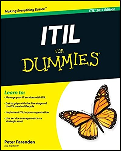 Book ITIL For Dummies