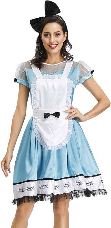 Halloween Vestido Mujer, Disfraz De Halloween para Mujer Falda De ...