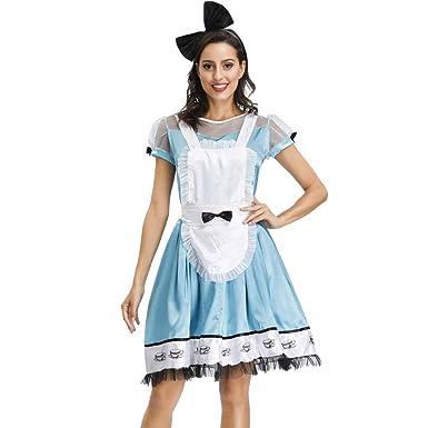 Disfraz de Halloween para Mujer, de Manga Corta, Elegante, hasta ...