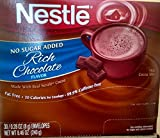 nestles hot chocolate fat free - Nestle Cocoa Mix No Sugar Added 60 Count .28 Oz Packets (2 - 30 ct boxes)