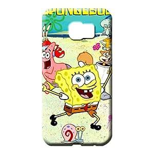 samsung galaxy s6 edge Heavy-duty dirt-proof colorful phone carrying shells spongebob squarepants