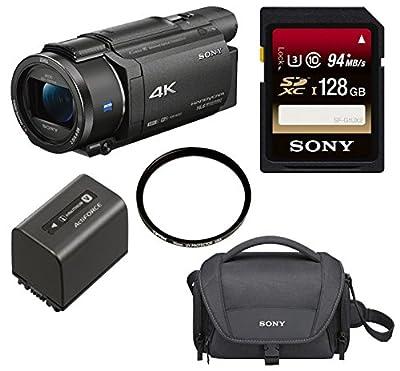 Sony FDR-AX53 UHD 4K Handycam Camcorder by Sony