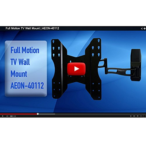 full motion tv ceiling wall mounts with 29 inch extension for 32 to 65 inch no 689466135800 ebay. Black Bedroom Furniture Sets. Home Design Ideas