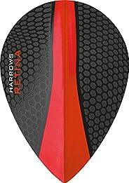 10 x Sets Harrows Retina Red Dart Flights Pear