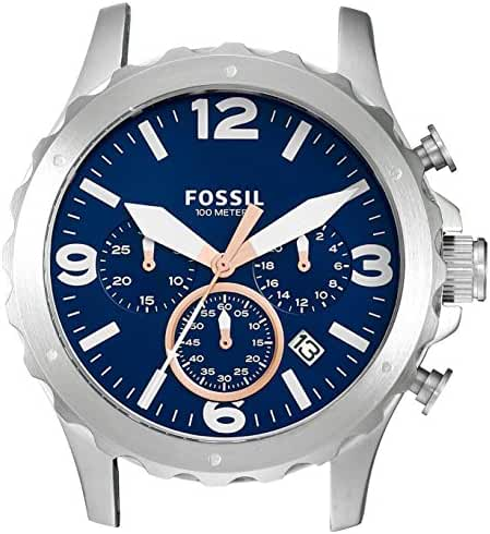Fossil Men's C221032 Nate Chronograph Stainless Steel 22mm Case
