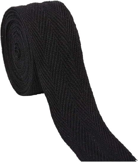 VVFi - Cinta de sarga de algodón de 45,7 metros para coser y ...