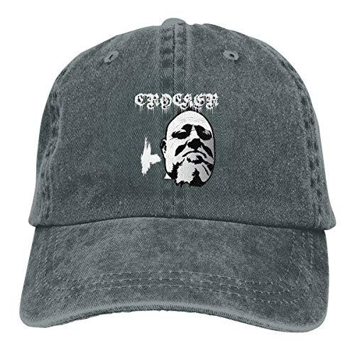 Uclipers Unisex Crocker - Metal Mayhem of Newport Vintage Jeans Baseball Cap Classic Cotton Dad Hat Adjustable Plain Cap Deep Heather ()