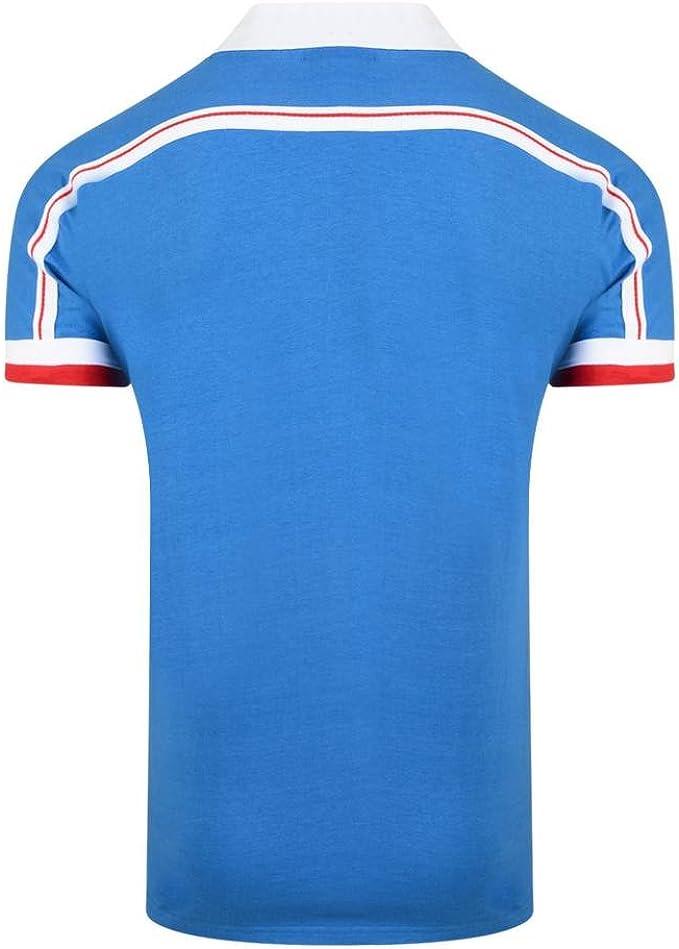 Equipe de France de Football Home France 1986 - Camiseta de equipación de fútbol: Amazon.es: Deportes y aire libre