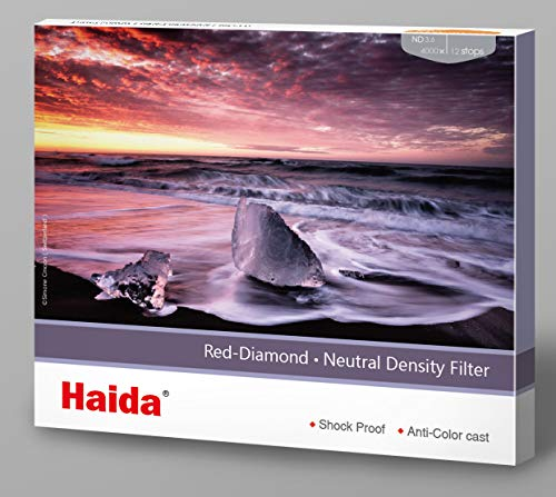 Haida Red Diamond Shockproof 150mm ND3.6 4000x Filter ND Double Strength Optical Glass MC 12Stop ND4000 150 HD4375