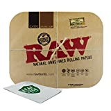 RAW Magnetic Rolling Tray Cover and Leaf Lock Gear Smell Proof Pouch