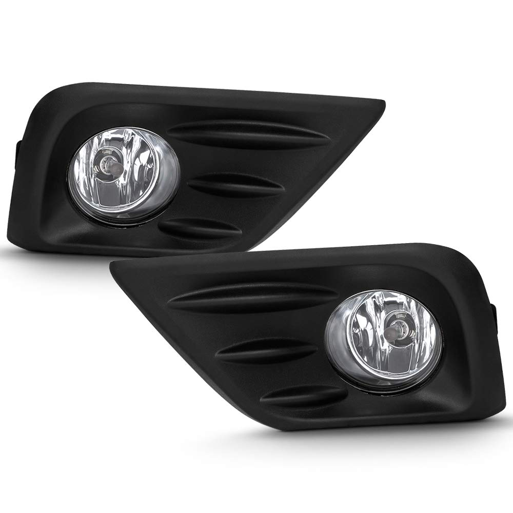 CPP Replacement Fog Light Cover NI1038139 for 2016-2017 Nissan Altima