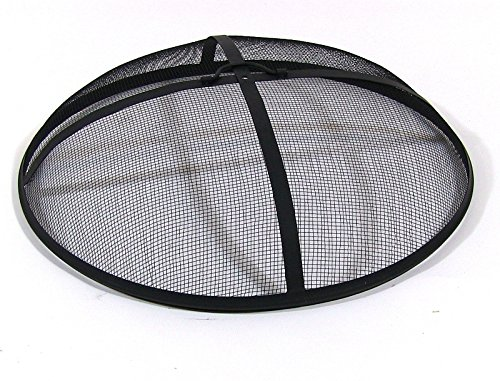 Sunnydaze 25-Inch Diameter Heavy Duty Fire Pit Spark Screen