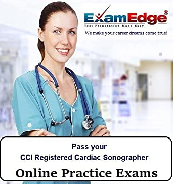amazon com pass your cci registered cardiac sonographer 5 practice