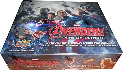 Avengers Age of Ultron Factory Sealed Trading Card Box of 20 Packs]()
