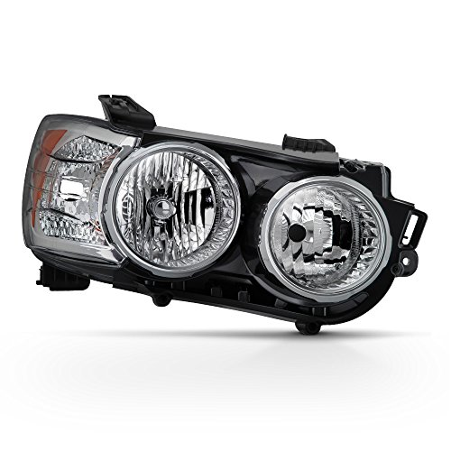 ACANII - For 2012-2016 Chevy Sonic Replacement Headlight Headlamp with Chrome Bezel - Passenger Side Only
