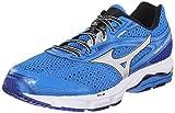 Mizuno Men's Wave Legend 3 Running Shoe, Electric Blue Lemonade Silver, 14 D US