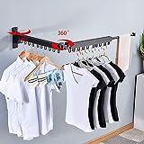 Bakala Wall Mounted Space-Saver, Clothes Drying