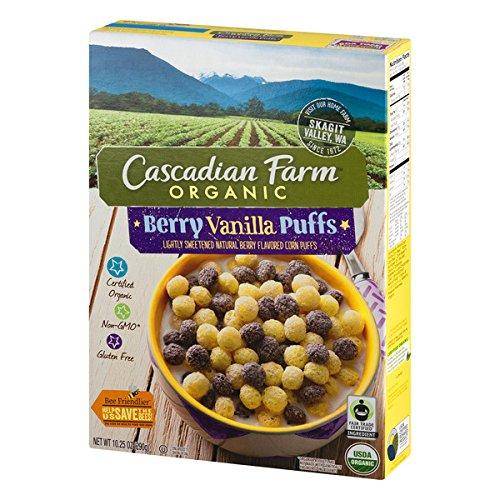 ic Berry Vanilla Puffs Cereal 10.25 oz Box (Gluten Free Organic Ice Cream)