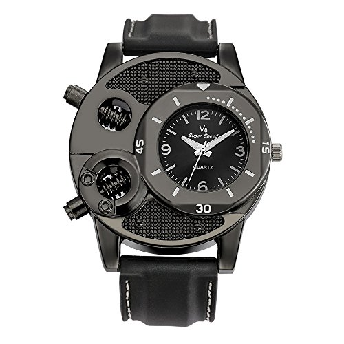 Clearance ! Charberry Mens Watch Fashion Thin Silica Gel Students Sports Quartz Watch ()