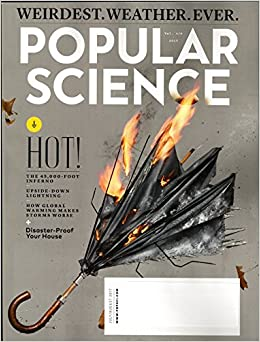 Popular Science Magazine July August 2017 Weirdest Weather Ever