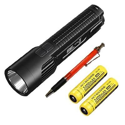Combo: Nitecore EC4GT XP-L Hi Flashlight 1000Lm w/2x NL189 Batteries