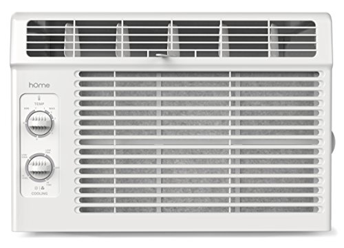 Ac Unit Fan : Home btu window mounted air conditioner compact