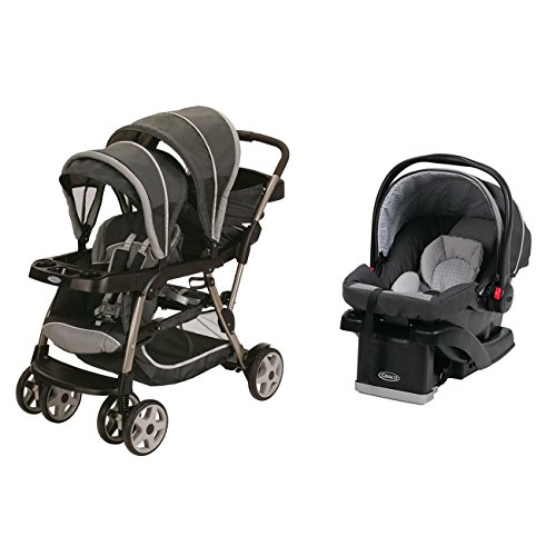 Dual Baby Stroller With Car Seat - 4