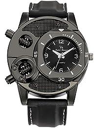 Watches for Men,Newest Fashion Men's Boys Ultra-Thin Silica Gel Casual Sports Quartz Watch