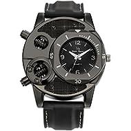 Clearance ! Charberry Mens Watch Fashion Thin Silica Gel Students Sports Quartz Watch