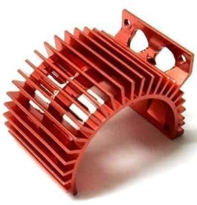 540 550 RC EP Motor Aleación Ventilados Disipador térmico Lado Rojo