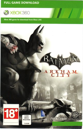 Batman Arkham City Full Game Download Card