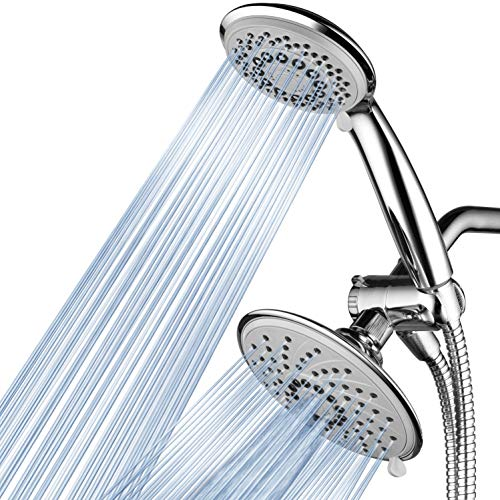 (Hotel spa 30-Setting Ultra-Luxury 3 way Rainfall Shower-Head/Handheld Shower Combo by Top Brand Manufacturer. Choose from 30 full and combined water flow patterns!)