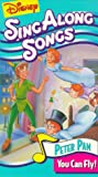 peter pan disney vhs - Disney's Sing Along Songs - Peter Pan: You Can Fly! [VHS]