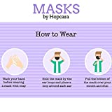 Hopcara Kids Printed Face Mask Unicorn Super-Soft