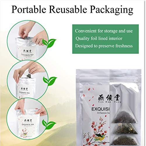 Yan Hou Tang Organic Weight Loss Tea Herbal Tea Bags Detox Diet Slim Flat Tummy Natural Sugar Free - 28 Serving Morning and Evening Cleanse Speed Up Metabolism Supplement for Digestion 14-28 Days