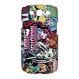 Mystic Zone Monster High Samsung Galaxy S3 Case for Samsung Galaxy S3 Hard Cover Cartoon Fits Case HH0564