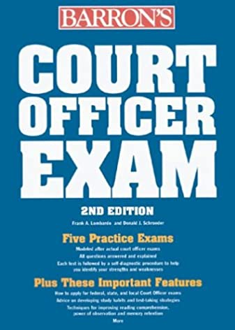 court officer exam barron s court officer exam aa amazon com books rh amazon com nys court officer sergeant exam study guide Us State Court Security Officers