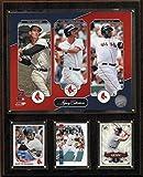 : MLB Boston Red Sox Williams-Ortiz-Yastrzemski Legacy Collection Plaque, 12 x 15-Inch