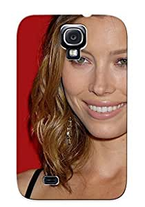 Awesome Design Jessica Biel Hard Case Cover For Galaxy S4(gift For Lovers)