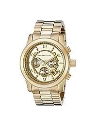 MK8077 Michael Kor Men Stainless Steel Analog Quartz Wrist Watches