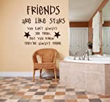 Best Are Like Stars Wall Stickers - Design with Vinyl – CA Friends Are Like Review