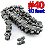 PGN - #40 Roller Chain x 10feet + Free Connecting Link: more info