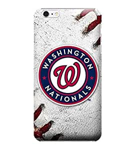 MLB-Washington Nationals Skin Tough Phone Case Covers,Stylish Protective Covers Compatible For iphone 6(4.7) by runtopwell