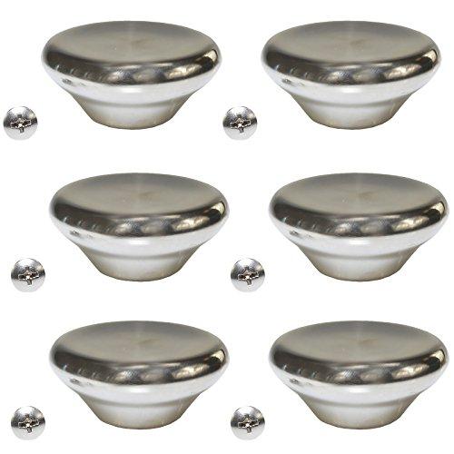 le crueset stainless steel knob - 6