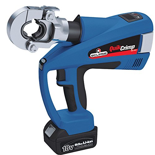 Eclipse Tools 902-484 Eclipse Tools QuickCrimp Battery Powered Hex Crimper with Dies