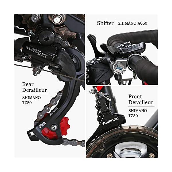 2651edcf60b EUROBIKE Road Bike TSM550 Bike 21 Speed Dual Disc Brake 700C Wheels Road  Bicycle ...